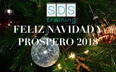 SDS TRAINING os desea FELIZ NAVDAD Y PROSPERO AÑO 2018