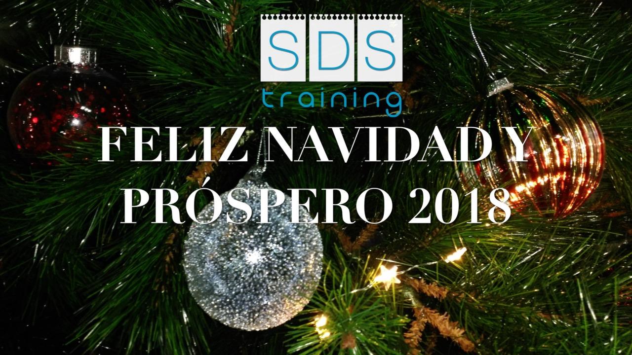 SDS TRAINING felicita la Navidad 2018
