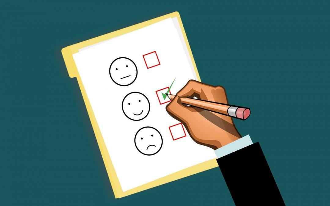 Encuestas de valoración de clientes