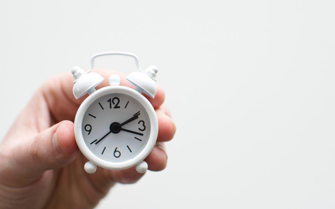 Control horario y gestión del tiempo.
